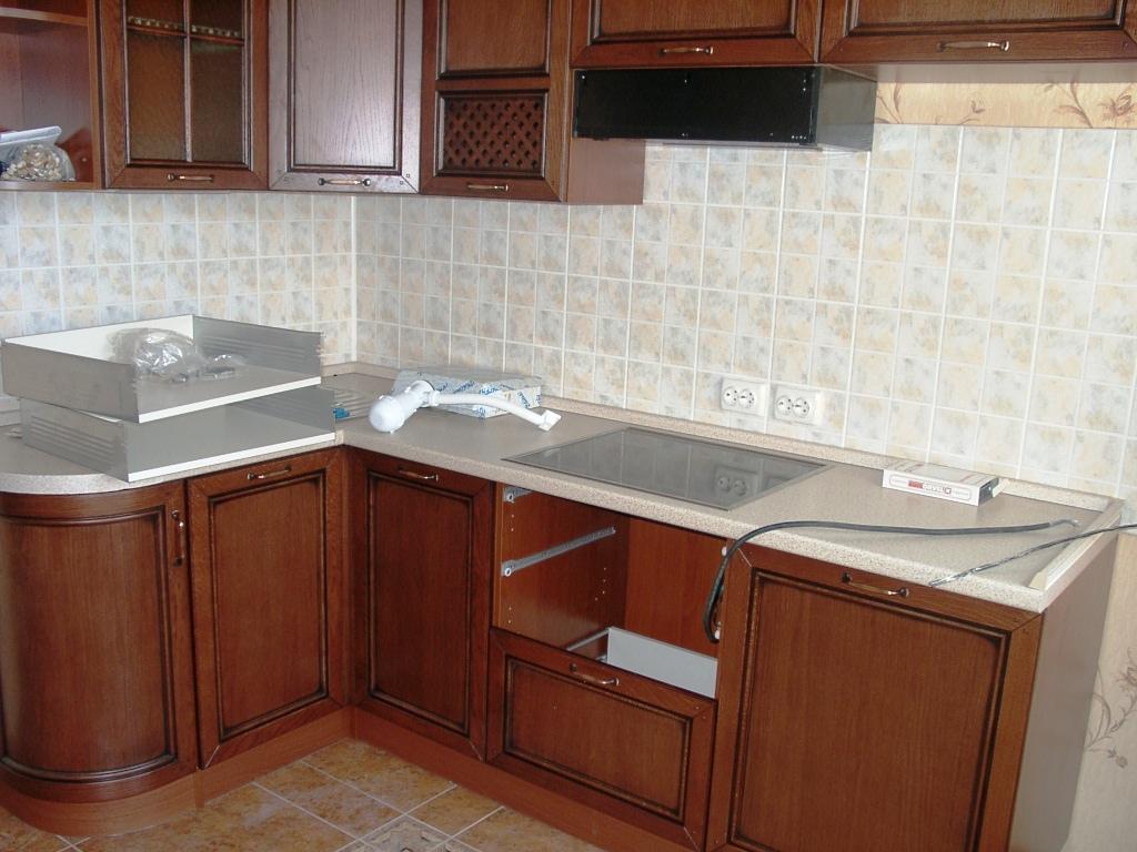 Как сделать ремонт в кухне своими руками видео